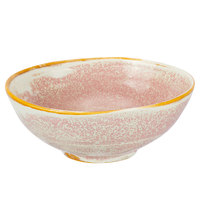 Bon Chef 2000000P Tavola Blush 10 oz. Porcelain Soup Bowl - 12/Pack