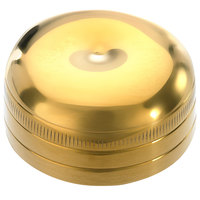 Mercer Culinary M37038GD-CAP Barfly Gold-Plated Stainless Steel 17 oz. Shaker Cap