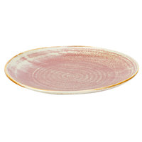 Bon Chef 2000020P Tavola Blush 7 inch Porcelain Bread and Butter Plate - 12/Pack