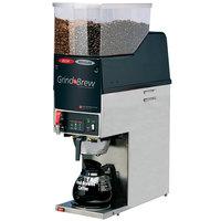Grindmaster GNB21H 6.5 lb. Dual Hopper 64 oz. Decanter Grind'n Brew Coffee Grinder and Automatic Brewer - 120V