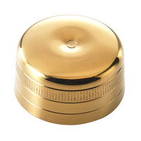 Mercer Culinary M37039GD-CAP Barfly Gold-Plated Stainless Steel 24 oz. Shaker Cap