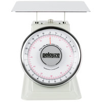 Rubbermaid FG10B60 Pelouze 60 lb. / 27 kg. Dual Read Mechanical Receiving Scale