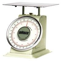 Rubbermaid Pelouze 10B60 60 lb. / 27 kg. Mechanical Receiving Scale - Dual Read (FG10B60)