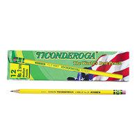 Dixon Ticonderoga 13885 Yellow Barrel Hard Pencil F #2.5 - 12/Pack