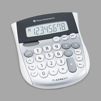 Texas Instruments TI-1795SV 8-Digit LCD Minidesk Calculator