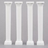 Wilton 303-3705 Grecian Cake Pillars - 4/Pack