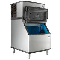 Manitowoc ID-0302A Indigo 30 inch Air Cooled Dice Ice Machine with Bin - 115V, 310 lb.