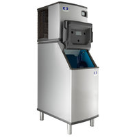 Manitowoc IDT0420A Indigo NXT 22 inch Air Cooled Dice Ice Machine with D420 Ice Bin - 115V, 470 lb.