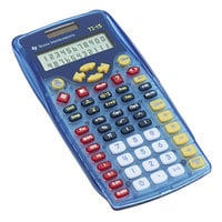 Texas Instruments TI-15RTL Explorer 11-Digit Elementary Calculator