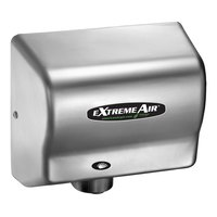 American Dryer EXT7-C ExtremeAir Automatic Unheated Hand Dryer with Chrome Cover - 100-240V, 540W