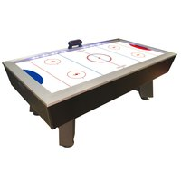 Escalade Sports HT600 7 1/2' Full-Length Interactive Lighted Rail Air Hockey Table