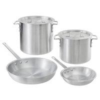 Choice Aluminum 6-Piece Pot/Pan Set