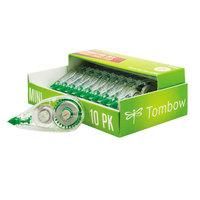 Tombow 68722 Mono 1/6 inch x 315 inch Mini Corrective Tape - 10/Pack