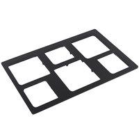 Bon Chef 52049BLK E-Z Fit Black Bonstone Full-Size Tile for 9502 and 9503