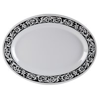 GET OP-630-SO 30 inch x 20 1/4 inch Oval Soho Platter 6/Case