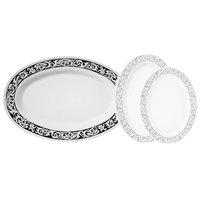 GET OP-630-SO 30 inch x 20 1/4 inch Oval Soho Platter - 6/Case
