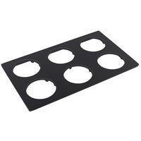 Bon Chef 52048BLK E-Z Fit Black Bonstone Full-Size Tile for 9202 Condiment Pots