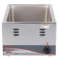 APW Wyott W-3V 12 inch x 20 inch Countertop Food Warmer - 120V, 1200W