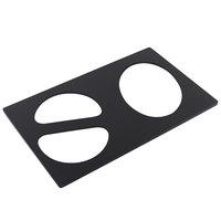 Bon Chef 52060BLK E-Z Fit Black Bonstone Full-Size Tile for 5202 and 5203