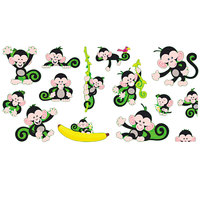 Trend T-8201 Monkey Mischief Bananas Bulletin Board Set