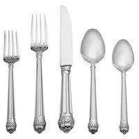 Reed & Barton Portico Stainless Steel Extra Heavy Weight 60-Piece Flatware Place Setting
