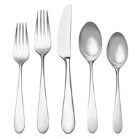 Reed & Barton Soho Stainless Steel Extra Heavy Weight 60-Piece Flatware Place Setting