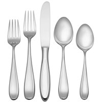 Reed & Barton Holliston Stainless Steel Extra Heavy Weight 60-Piece Flatware Place Setting