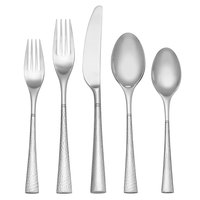 Reed & Barton Hollis Stainless Steel Extra Heavy Weight 60-Piece Flatware Place Setting