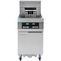 Frymaster 11814EF Oil Conserving 60 lb. Electric Floor Fryer with Digital Controller and Filtration System - 240V, 3 Phase, 17 kW