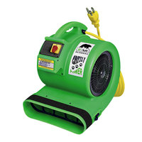 B-Air GP-1 Grizzly Green 3-Speed Air Mover - 1 hp