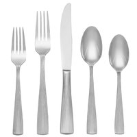 Reed & Barton Silver Birch Stainless Steel Extra Heavy Weight 60-Piece Flatware Place Setting