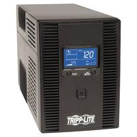 Tripp Lite SMART1500LDT SmartPro LCD Black 10 Outlet Digital UPS System, 650 Joules