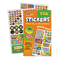 Trend 5011 Assorted Praise and Reward Stickers - 738/Pack