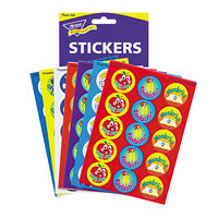 Trend T6480 Stinky Stickers Assorted Positive Words Scratch 'n' Sniff Stickers - 300/Pack