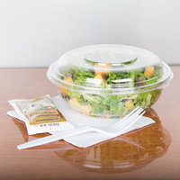 Dart C24BCD PresentaBowls 24 oz. Clear Plastic Bowl with Dome Lid - 126/Case