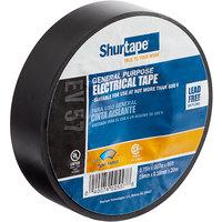 Shurtape 3/4 inch x 66' General Purpose Black Electrical Tape