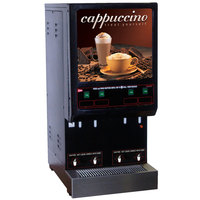 Cecilware 4K-GB-LD Cappuccino Dispenser with 4 Hoppers - 120V