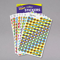 Trend T1945 SuperSpots Assorted Positive Praisers Stickers - 2500/Pack