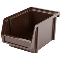 Vollrath 4804-01 Traex Brown Self-Serve 8 inch Condiment Bin