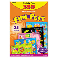 Trend T83906 Stinky Stickers Assorted Fun Fest Scratch 'n' Sniff Stickers - 350/Pack