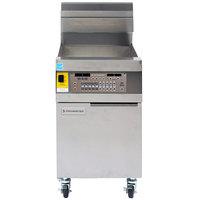 Frymaster LHD165 100 lb. Decathlon Natural Gas Floor Fryer with SMART4U 3000 Controls - 105,000 BTU
