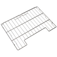 Vulcan ADDRACK-ABC3 Grab-and-Go Stainless Steel Rack with Cutout Design for ABC Combi Ovens - 3/Pack