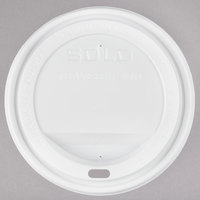 Dart Solo TLP20 20 oz. White Plastic Travel Lid - 1000/Case