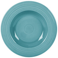 Homer Laughlin 462107 Fiesta Turquoise 21 oz. Pasta Bowl - 12/Case