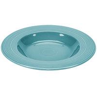 Homer Laughlin 462107 Fiesta Turquoise 21 oz. China Pasta Bowl - 12/Case