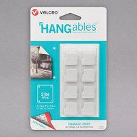 Velcro® 95184 HANGables 3/4 inch Square White Fastener   - 16/Pack