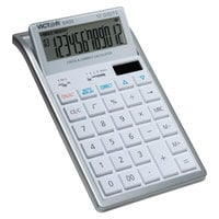 Victor 6400 12-Digit LCD Desktop Calculator