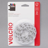 Velcro® 90090 5/8 inch White Sticky-Back Hook and Loop Dot Fasteners - 75/Pack