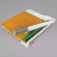 Westcott 16875 CarboTitanium 18 inch Metal / Wood 30 Sheet Guillotine Paper Trimmer