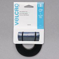 Velcro® 90340 ONE-WRAP 3/4 inch x 12 inch Black Hook and Loop Reusable Tie Fastener